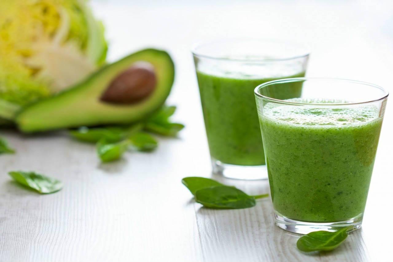 Zielony koktajl jaglany na oczyszczanie