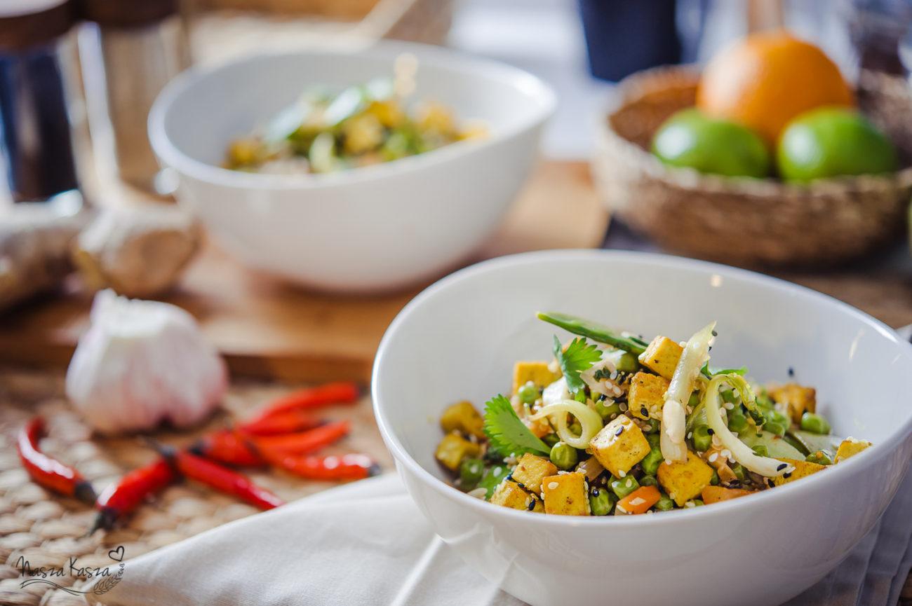 Sezamowa quinoa po tajsku