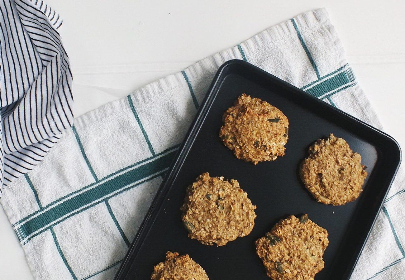 Ciasteczka bakaliowe z kaszą jaglaną