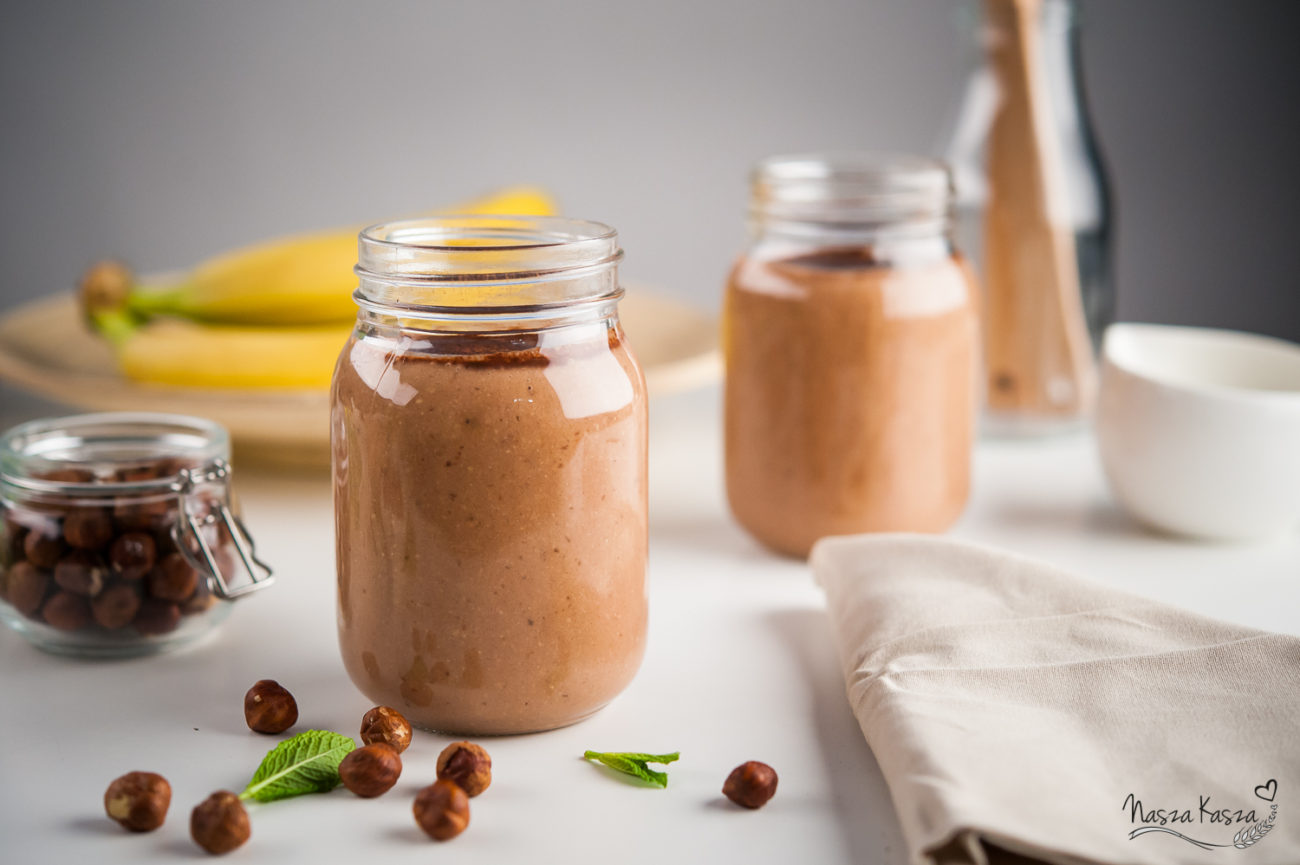 Zdrowy shake a'la Nutella