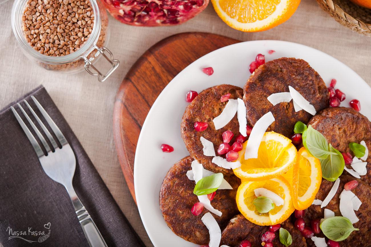 Bezglutenowe, czekoladowe pancakes z batata
