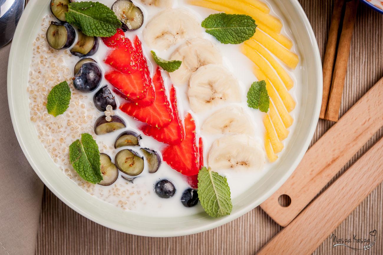 Komosowa miska śniadaniowa