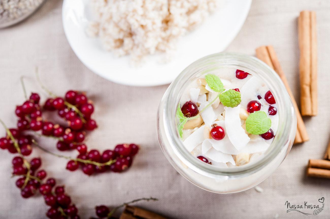Migdałowo-jęczmienne smoothie